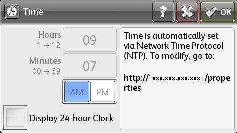 Select Time