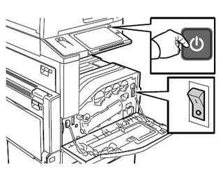 Power The Printer On Altalink C8030 C8035 C8045 C8055 C8070