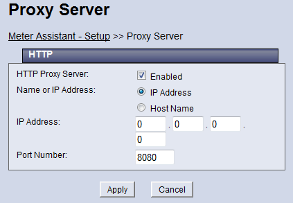HTTP IP Address