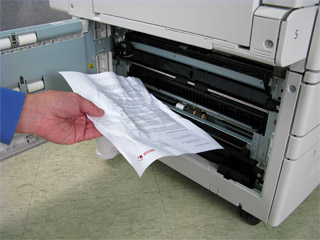 Remove Paper and Other Obstructions From the Paper Path