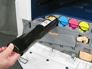 Pull out Toner Cartridge