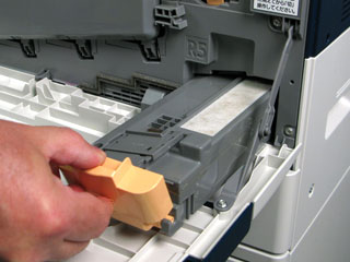 Replace The Waste Toner Dry Ink Container Workcentre 7830 7835