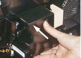 Push Drum Cartridge into printer
