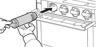Install the new toner cartridge