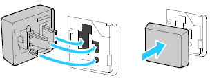Install the Wireless Network Adapter following the instruction sheet provided with the adapter