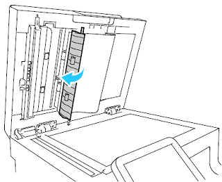 Close the second-side scanning access cover