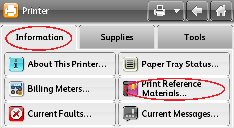 Select Information, Print Reference Materials