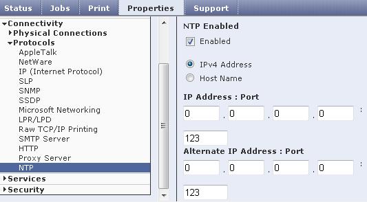 Configure NTP Settings