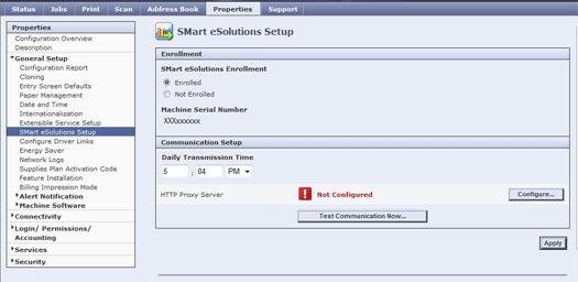 Smart eSolutions Screen