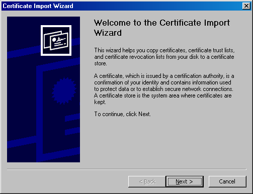 Import Wizard