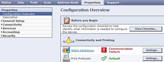 CWIS Configuration Overview
