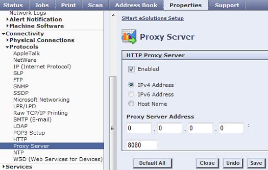 CWIS Proxy Server