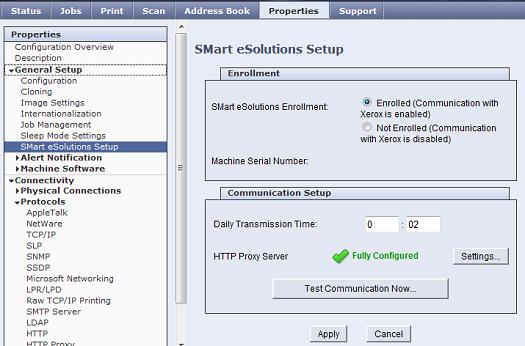 Proxy Server Configured