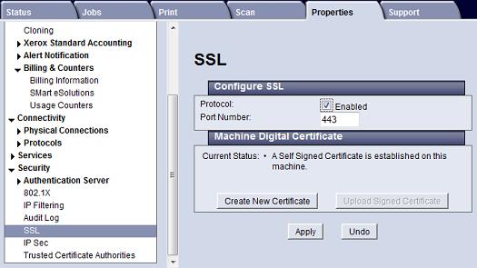 CWIS SSL