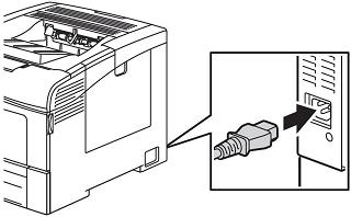 Plug in power cord
