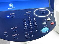 Machine Status Button